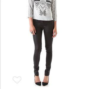 Habitual Denim Eve Hi Rise Coated Skinny Jeans